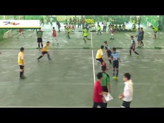 永隆中學參與賽馬會四人同進足球賽比賽及領獎片段